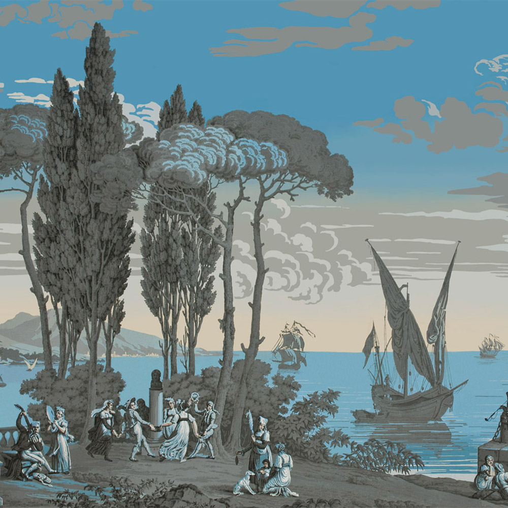 Papier Peint Panoramique Paysage papier peint panoramique décoratif vues d'italie - scène 2